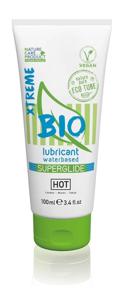 HOT BIO lubricant waterbased Superglide Xtreme 100 ml - Gender couples thumbnail