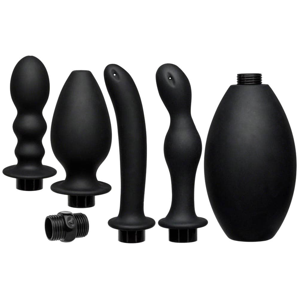 Kink Flow Full Flush Silicone Anal Douche & Accessories thumbnail