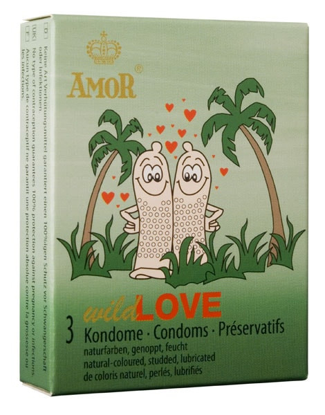 AMOR Wild Love / 3 pcs content - Gender for men thumbnail