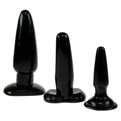 3 pcs Butt plug set thumbnail