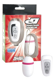 Ou vibrator E7 Wireless Remote Controle Silk Coated