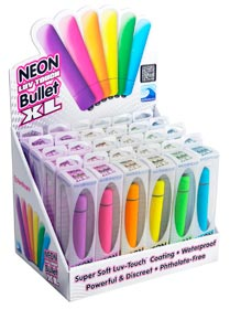 Set vibratoare Neon Luv Touch Bullet XL