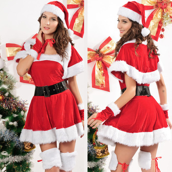 Costum Craciunita Santa's Good Girl