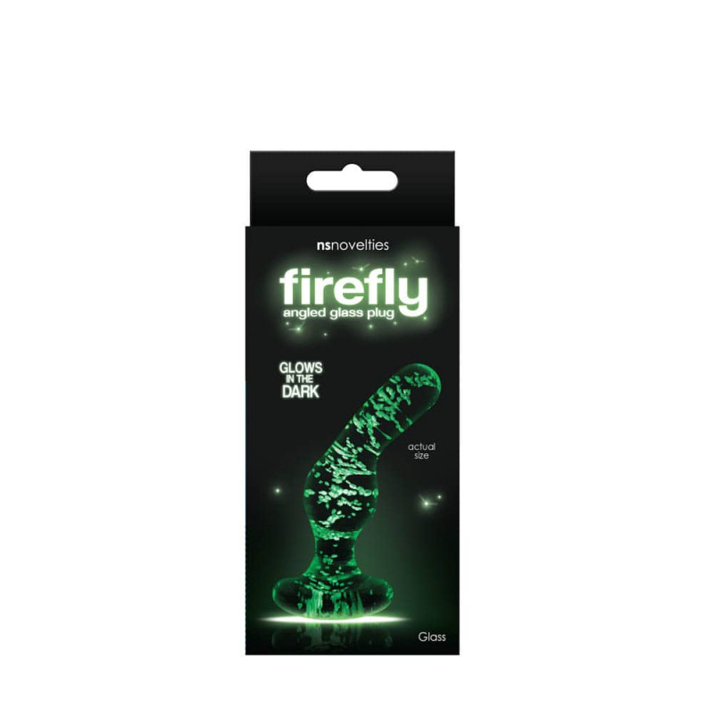 Firefly Glass - Angled Plug - Clear
