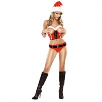 Costum Craciunita Hotty Naughty