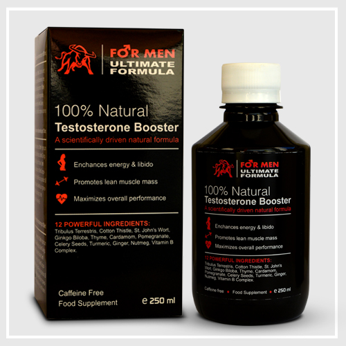 Ultimate Formula For Men - Testesterone Booster - Noua Formula 2017