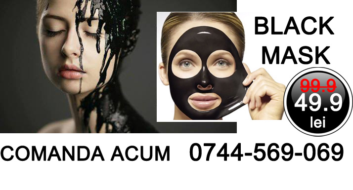 VivaceRomania Black Mask